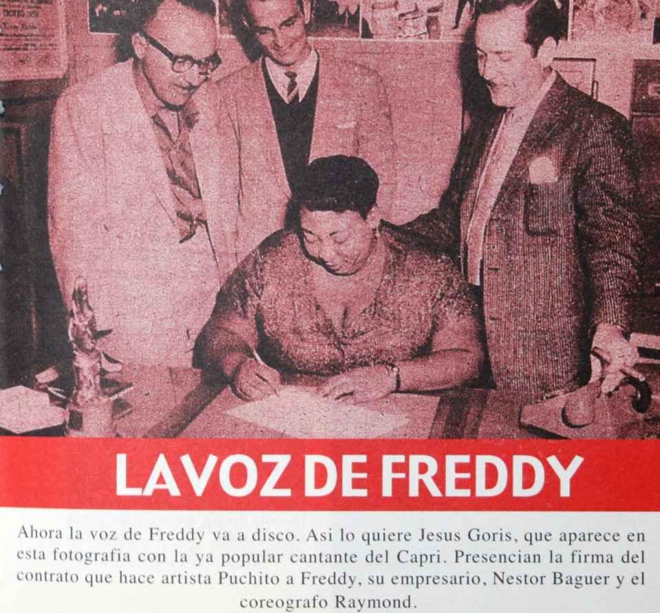 Vida y obra de Freddy la bolerista. Herencia Latina\