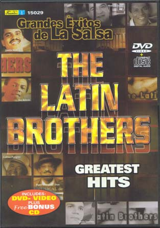 The Latin Brothers - Booty Traxx E.P.